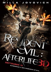 Residen Evil Afterlife 3d