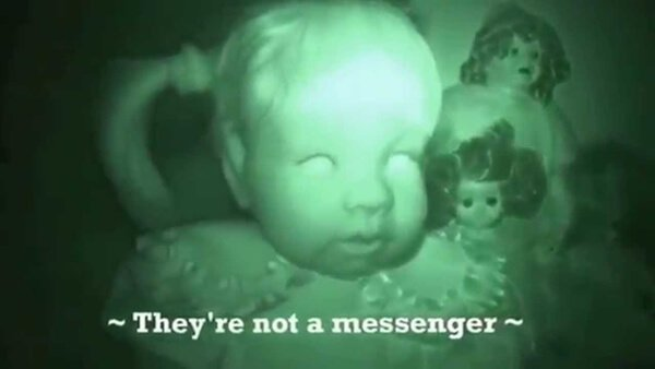 Ghosts in the Haunted Doll Room
