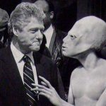 FORMER PRESIDENT BILL CLINTON MAKES AN INTERESTING COMMENT ABOUT EXTRATERRESTRIAL CONTACT ON JIMMY KIMMEL