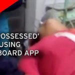 Shocking Footage Of Girl 'Possessed By Devil' After Playing Ouija Board App