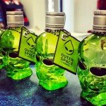 THIS VODKA IS FILTERED THROUGH 4 BILLION YEARS OLD METEORITES AND COMES IN AN ALIEN HEAD BOTTLE