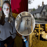 Sun girl Jennifer visits Britain's most haunted house