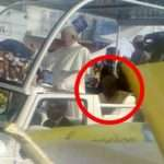 St. Pope John Paul II's ghost caught in Camera with Pope Francis, Vatican investigates and conclude the claims