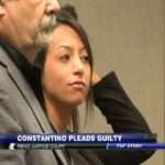 Constantino pleads guilty to battery
