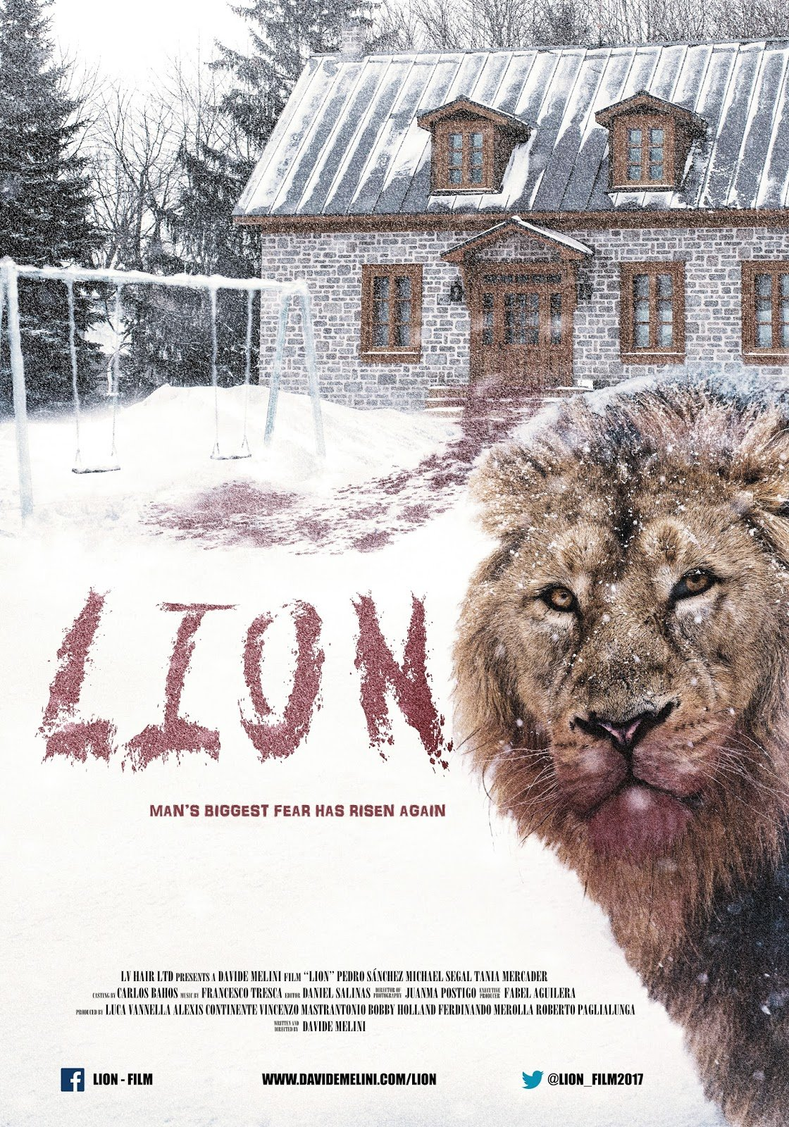 LION OFFICIAL POSTER LQ