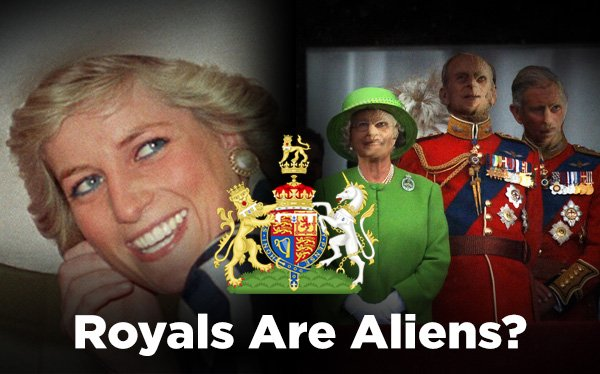 Royals Are Aliens