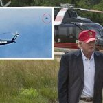 Donald Trump 'tailed by UFO' in chopper during Presidential election campaign