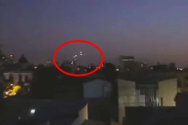 UFOs Filmed Over Chile