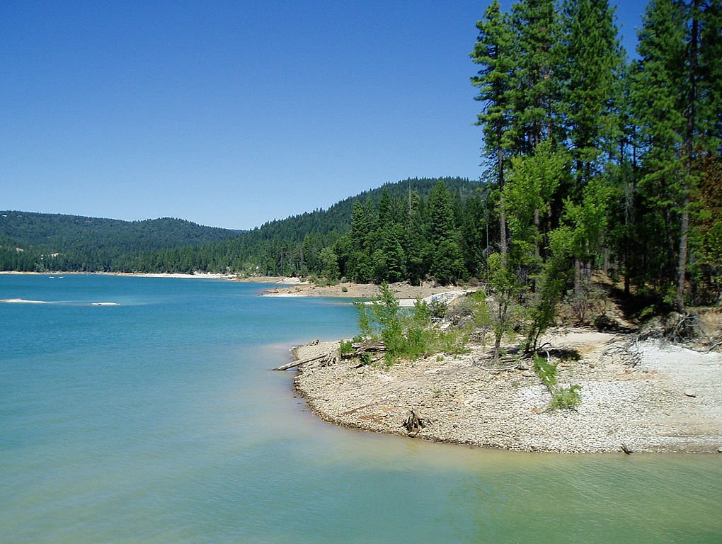 "A ""normal"" Scotts Flat Lake in late Summer. Source Wikipedia, Travisthurston"