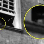 Ghost hunters spot 'spirit' watching from hospital window before it THREATENS them