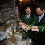 Chinese meat-smuggling gangs caught importing 'zombie meat' frozen 40 YEARS ago
